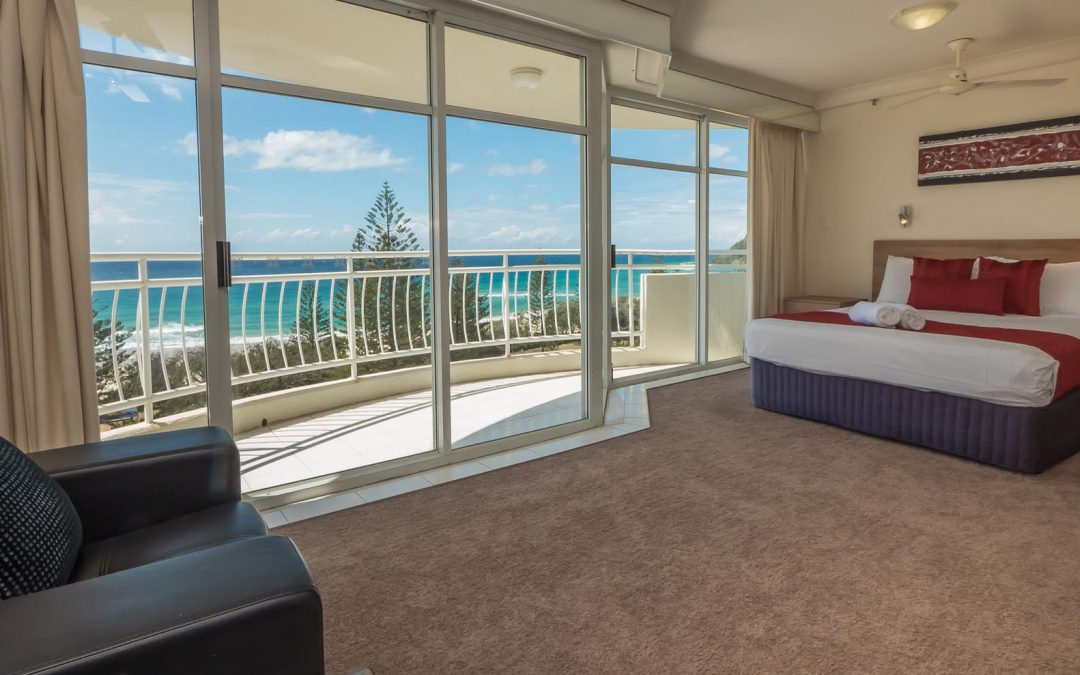 Find Romance in February with Our One Bedroom Burleigh Heads Apartment